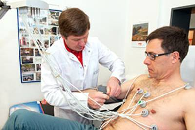 12-Kanal-Ruhe-EKG und Vector-Kardiographie