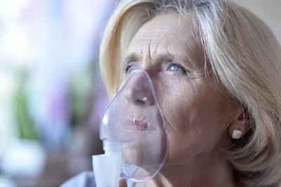 Lungenfunktionsprüfung